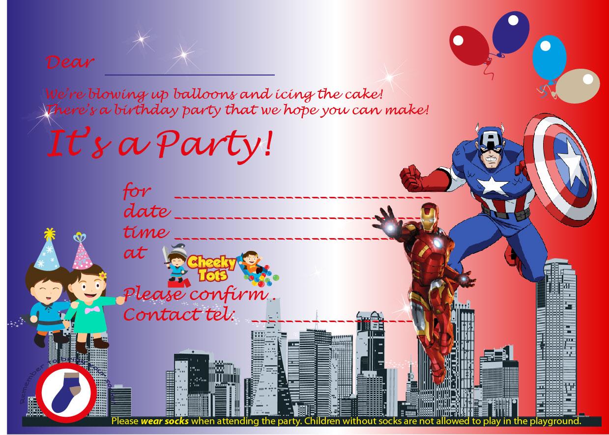 Parties | Cheeky Tots Indoor Kids Playground